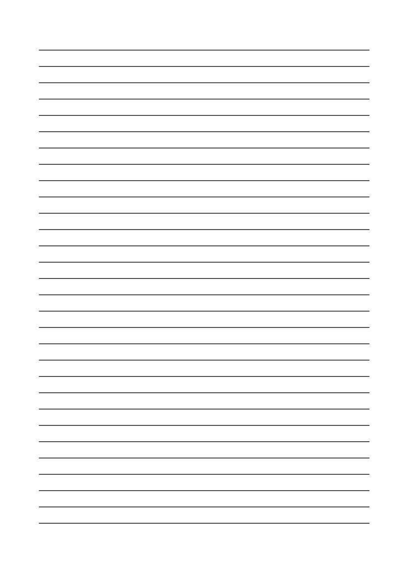 Kostenlose Vorlage Linienpapier Briefpapier Vorlage Papier