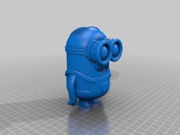 Minion Dave By Poh Thingiverse 3d Drucker Vorlagen 3d Drucker