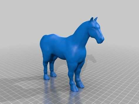 Horse From 3d Printer Leapfrog By Procoprint3d Thingiverse 3d