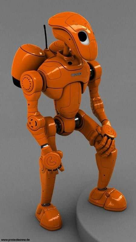 35 Realistic 3d Robots Illustrations 3d Drucker Vorlagen 3d