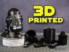 3d Printed Star Wars Droid Replica 3d Drucker Vorlagen 3d