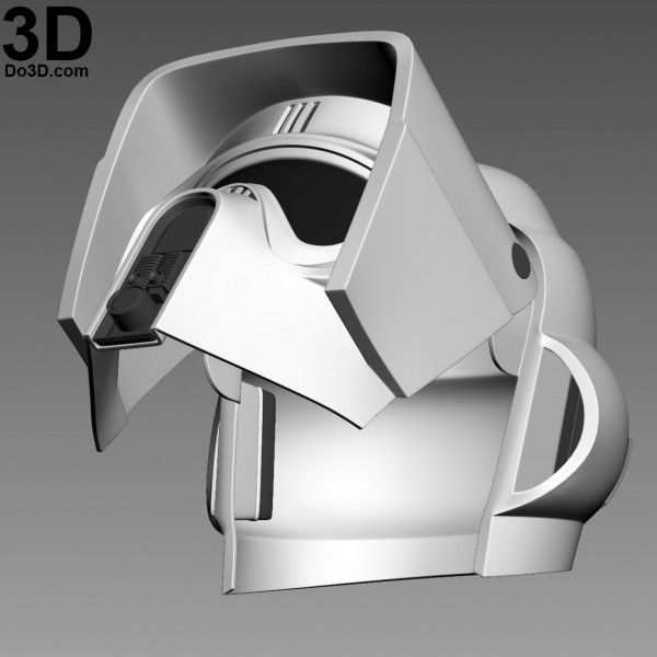 3d Printable Model Scout Trooper Biker Scouts Helmet Star Wars