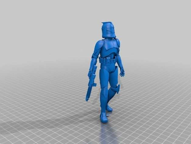 Star Wars Doll By Pennydetective Thingiverse Mit Bildern 3d
