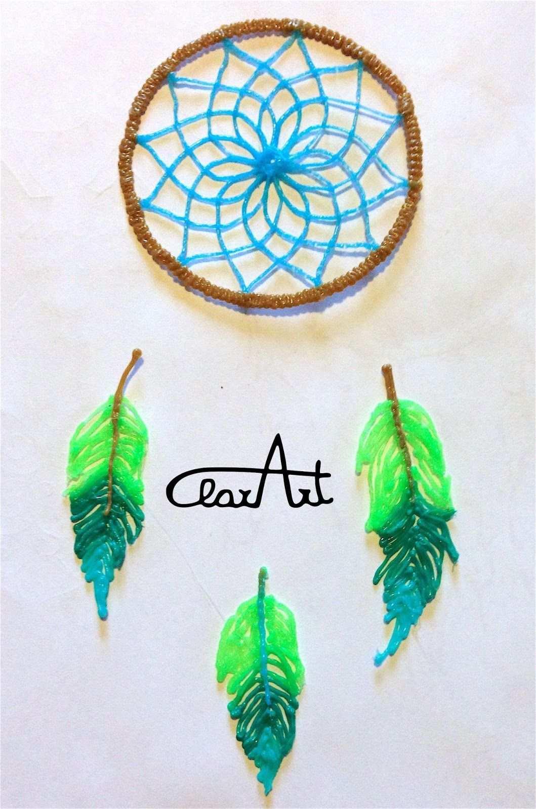 Clarart Creations Ideas Dreamcatcher 3d Pen 3d Pen 3d Doodle