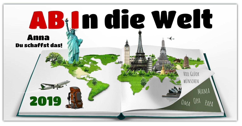 Abi Banner Weltreise 2 Abi Plakate Abi Plakat Spruche Und Abi