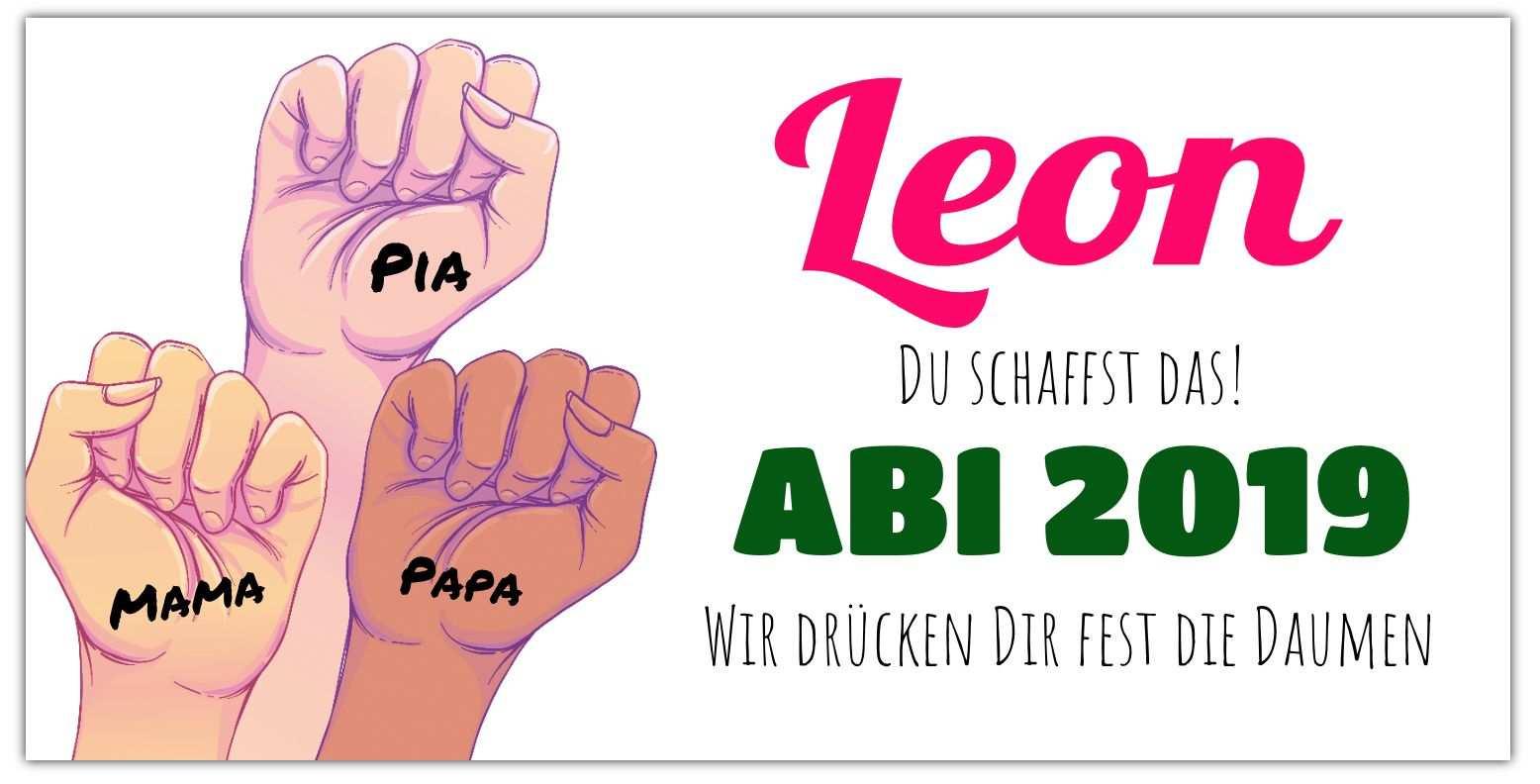 Abi Banner Daumen Drucken In 2020 Abi Plakate Abi Banner Ideen