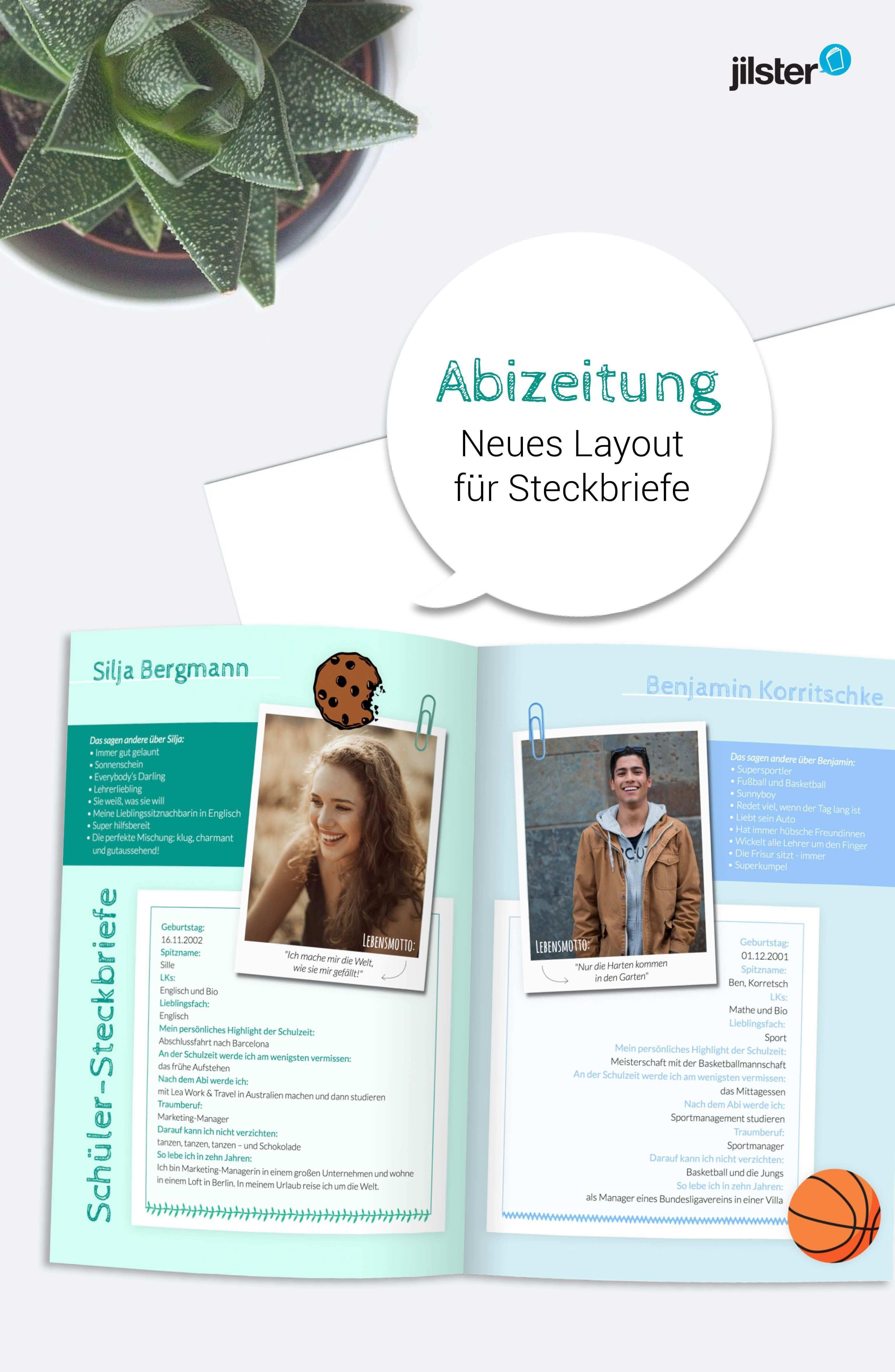 Abizeitung Steckbriefe Wollen Alle Lesen Jilster Blog