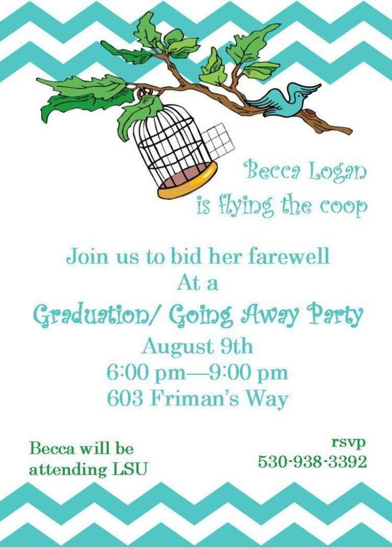 Abschiedsparty Einladung In 2020 Party Einladung Einladung