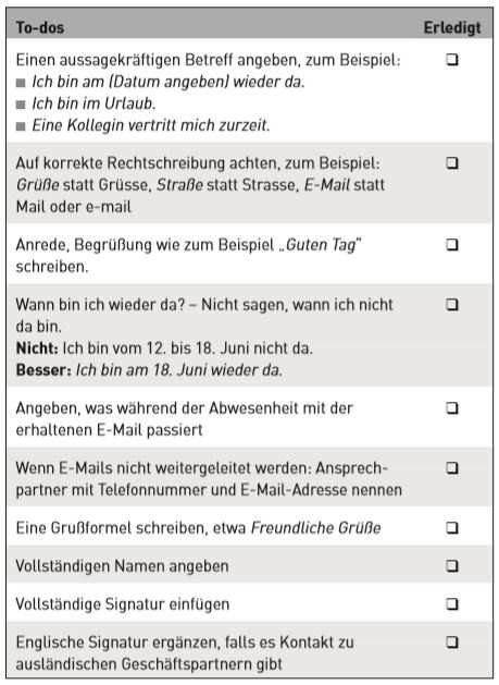 3 Muster So Formulieren Sie Tolle Abwesenheits E Mails