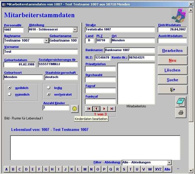 Personalverwaltung Fur Access 2000 Download Freeware De