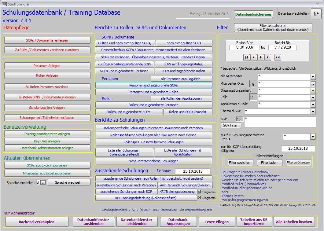 Www Vba Programmierung Com Schulungsdatenbank