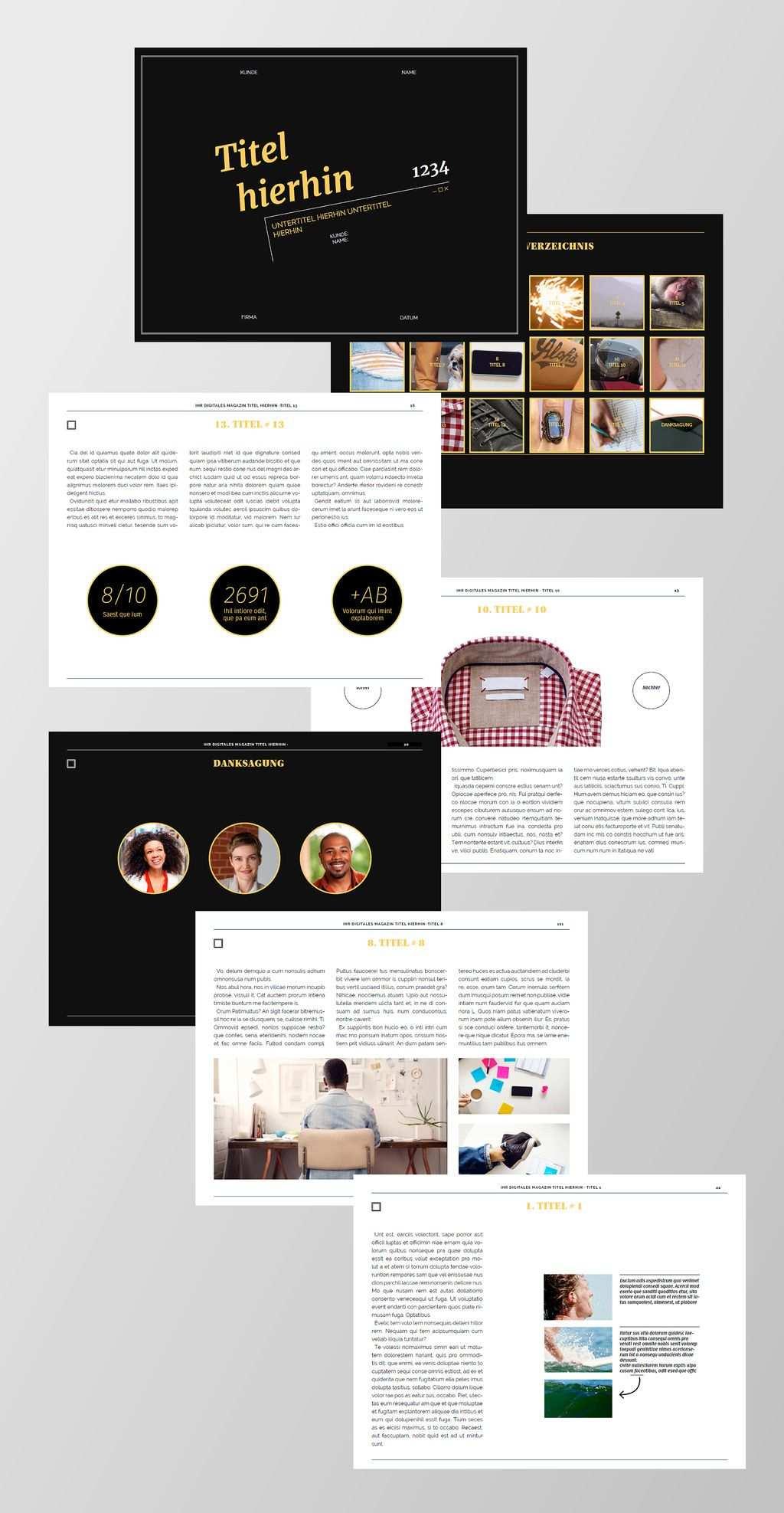 Kostenlose Indesign Vorlagen Fur Magazine Free Indesign Magazine
