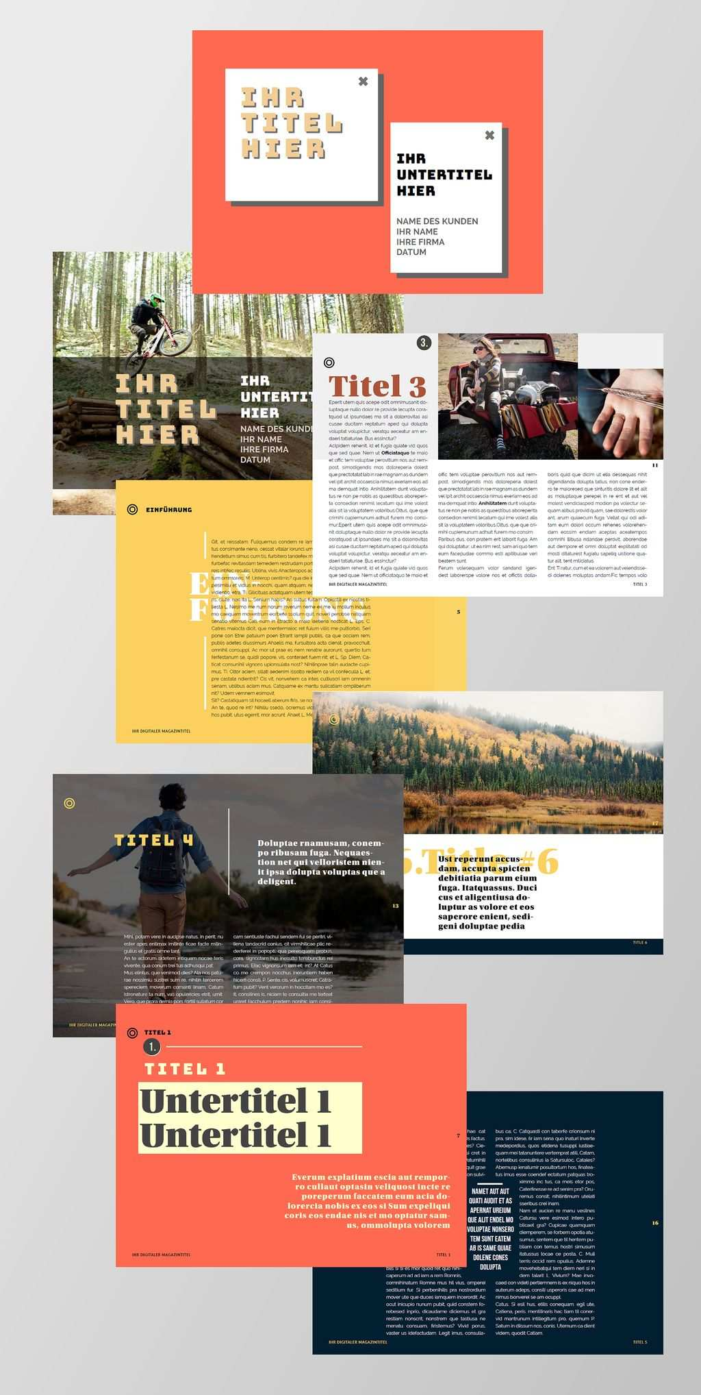 Kostenlose Indesign Vorlagen Fur Magazine Creative Connection