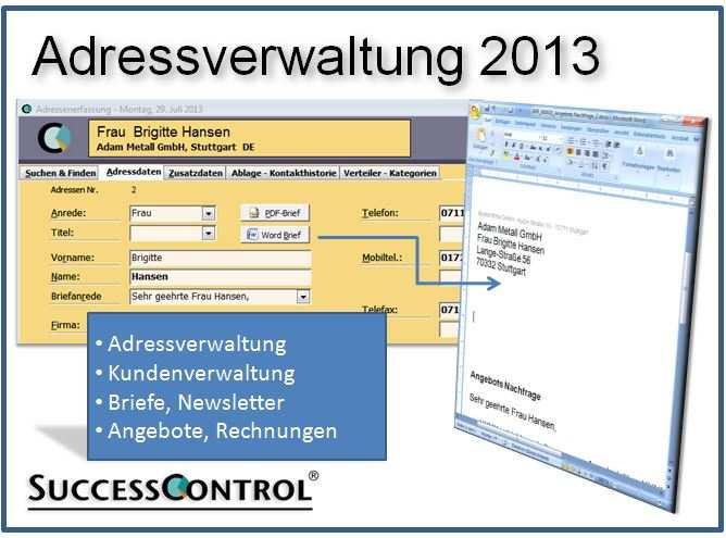 Adressverwaltung Als Erfolgsfaktor Adressverwaltung Freeware Und