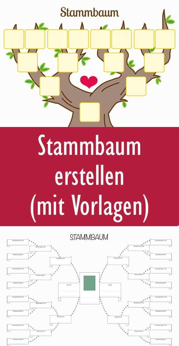 Stammbaum Vorlage In 2020 Stammbaum Vorlage Stammbaum Erstellen