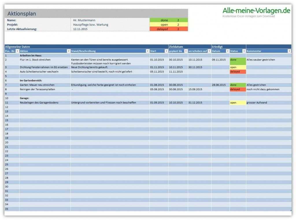 Aktionsplan Excel Vorlage Terminplaner Vorlage Vorlagen