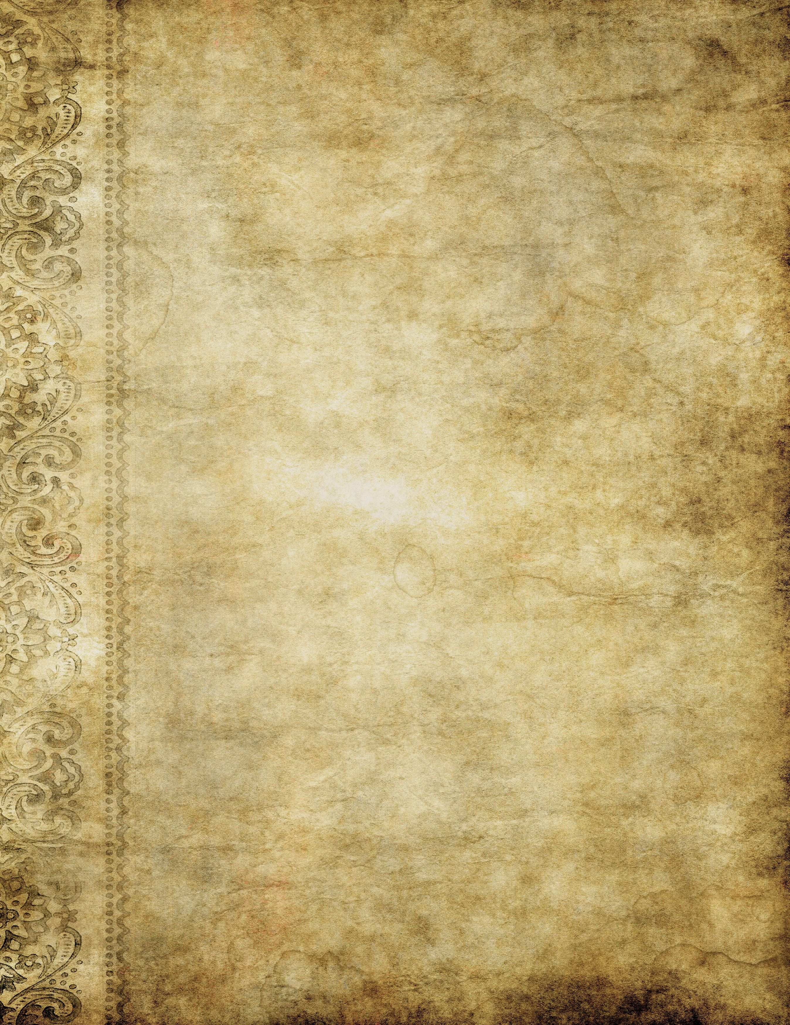 Another Old Grunge Paper Or Parchment Background Image Grunge