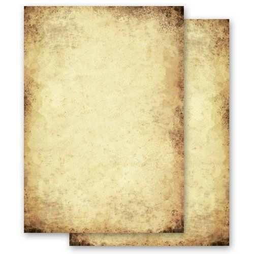Briefpapier Motiv Altes Papier Altes Papier Briefpapier Papier