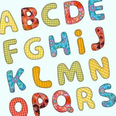 Letter Patterns For Applique Free Applique Patterns Applique