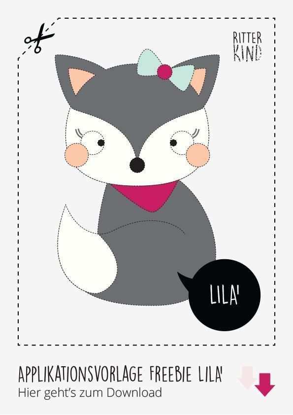 Tutorial Freebie Applikationsvorlage Und Anleitung Lila Lilu