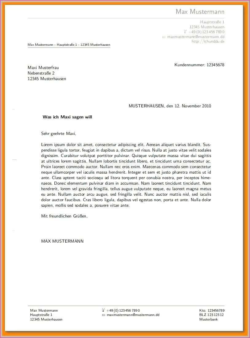 Copyright Vermerk Muster Muster Briefe Frau