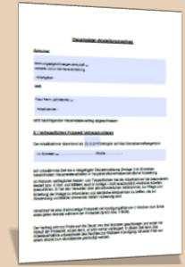 Hausmeister Arbeitsvertrag Vorlage Hausmeistervertrag