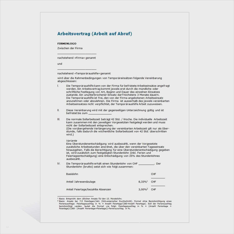 Suss Arbeitsvertrag Vorlage Handwerkskammer Ebendiese Konnen