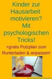 Motiviere Deine Kinder Zur Hausarbeit Mit Psychologischen Tricks