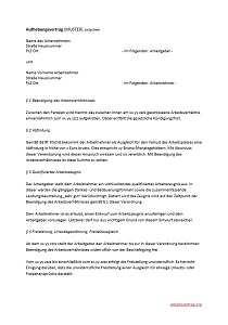 Aufhebungsvertrag Durch Den Arbeitnehmer Arbeitsrecht 2020