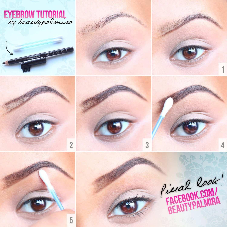 Augenbrauen Bilder Tutorial Augenbrauen Tutorial Augenbrauen