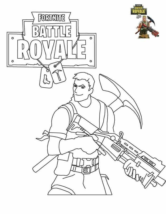 Fortnite Coloring Pages For Kids Ausmalbilder Malvorlagen Ausmalen