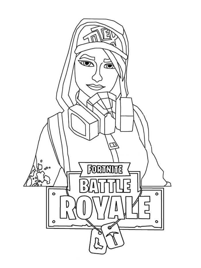Fortnite Coloring Pages For Kids Malvorlagen Fur Jungen