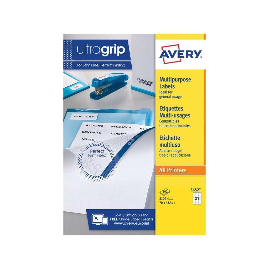 Multipurpose Labels 3652 Avery