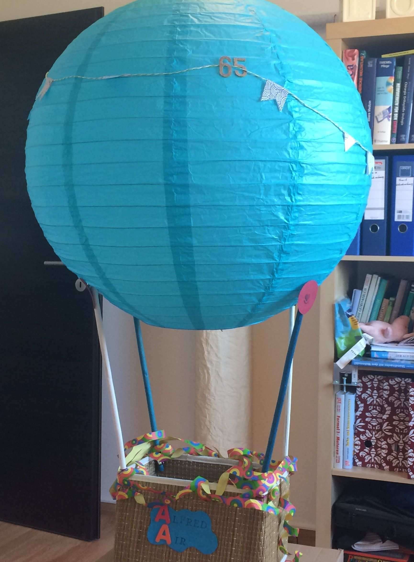 Diy Geburtstagsgeschenk Gutschein Ballonfahrt Ballonfahrt