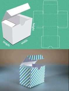 Vorlagen Fur Boxen Umschlage Etc Zum Ausdrucken Variable Masse