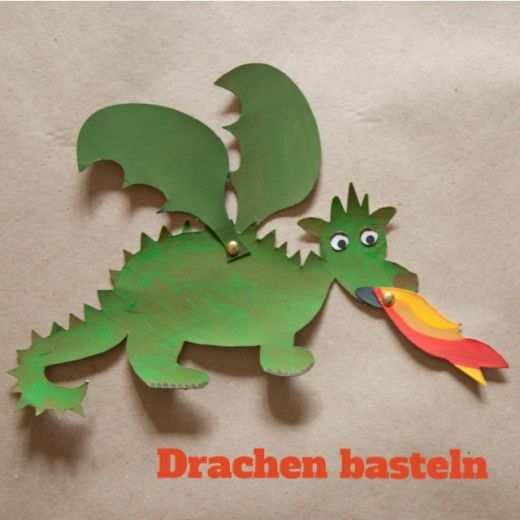 Tiere Basteln Kostenlose Vorlagen Meine Svenja Drachen