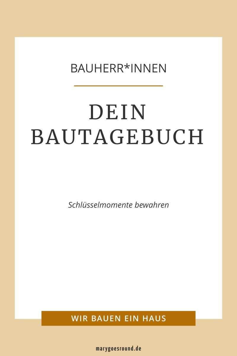Bautagebuch Edition Midi Zum Ausfullen Und Ankreuzen