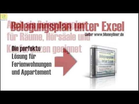 Der Genial Einfache Belegungsplan Unter Excel Office Vorlagen