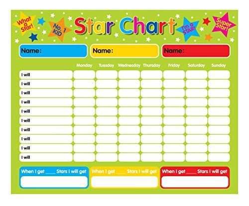 Belohnungstafel Star Chart Magnetisch Indigo Http Www Amazon
