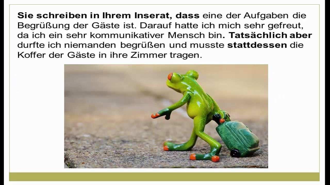 Beschwerdebrief Schreiben Deutsch Lernen Schreiben Lernen