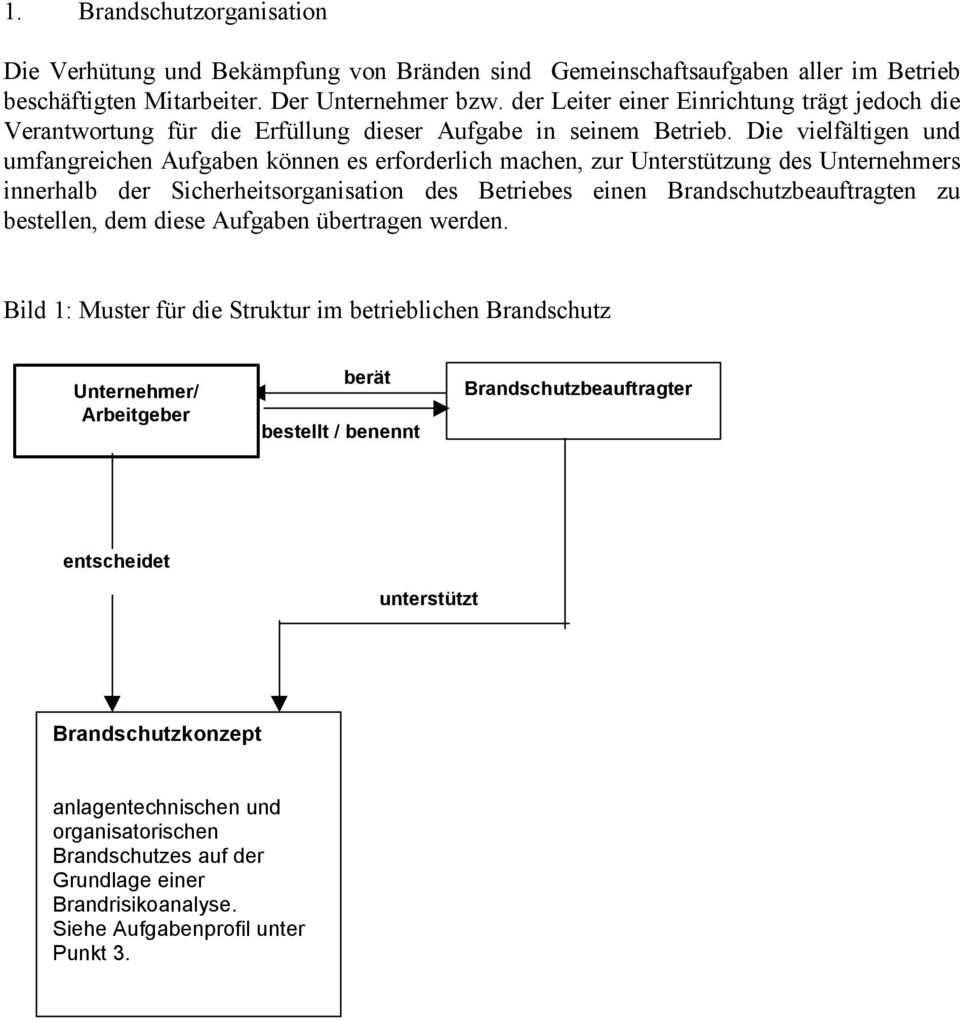 Entwurf Richtlinie Zur Bestellung Aufgaben Qualifikation Und