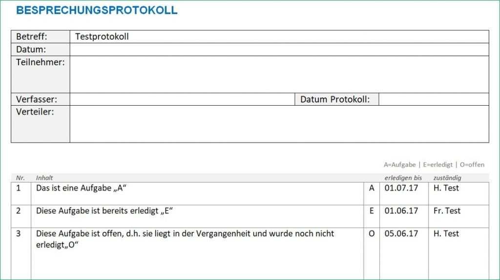 Protokoll Vorlage Word Vorlagen Word Vorlagen Excel Vorlage