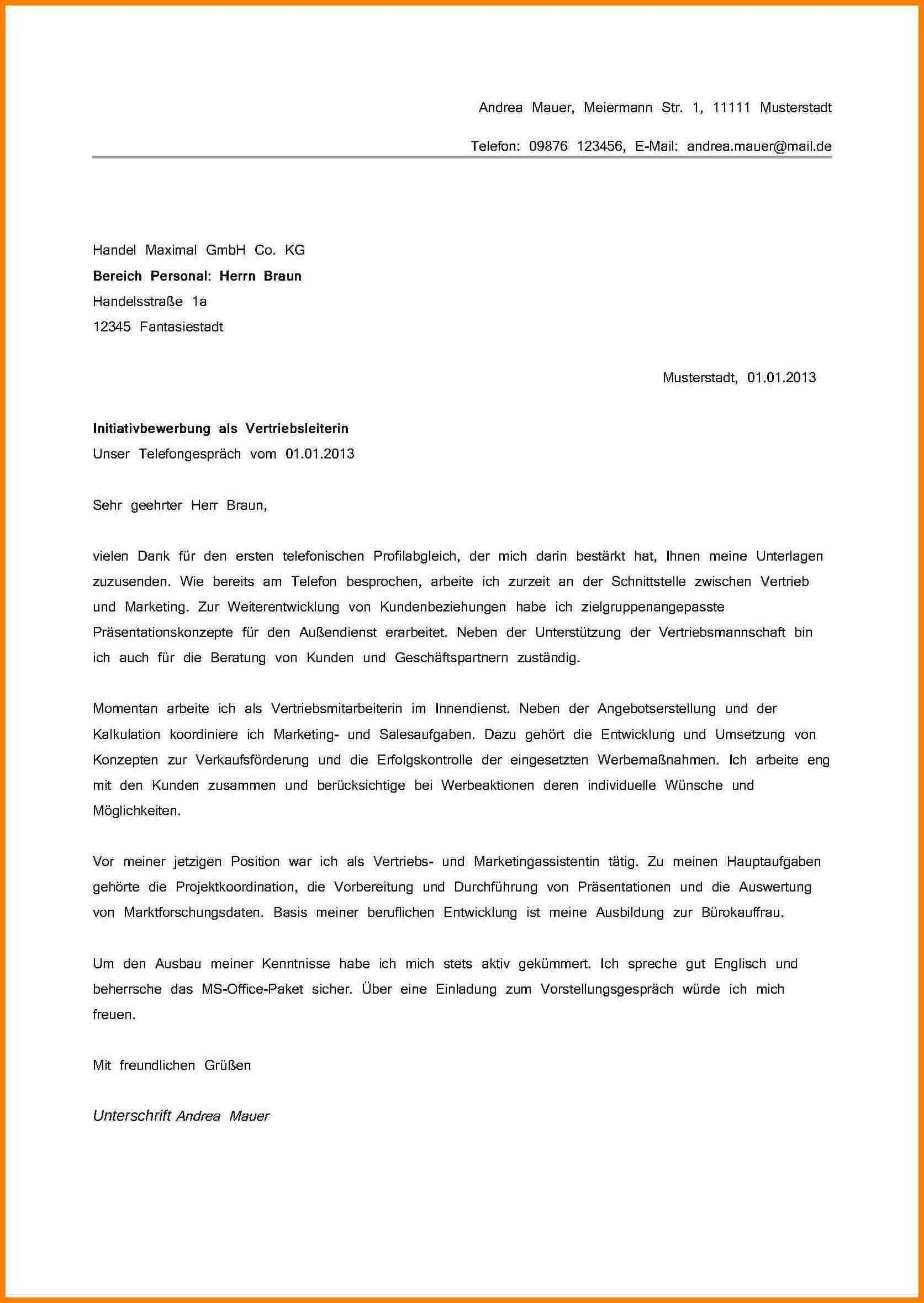 Neu Anschreiben Als Reinigungskraft Briefprobe Briefformat