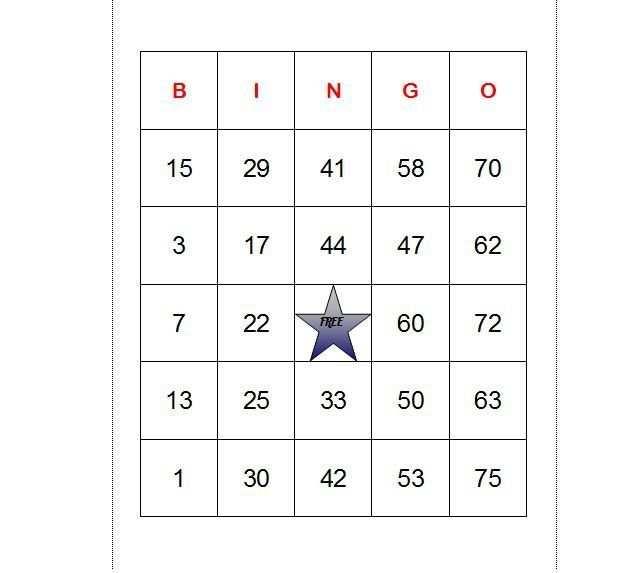 How To Make Bingo Cards In Excel Bingo Cards Bingo Cards