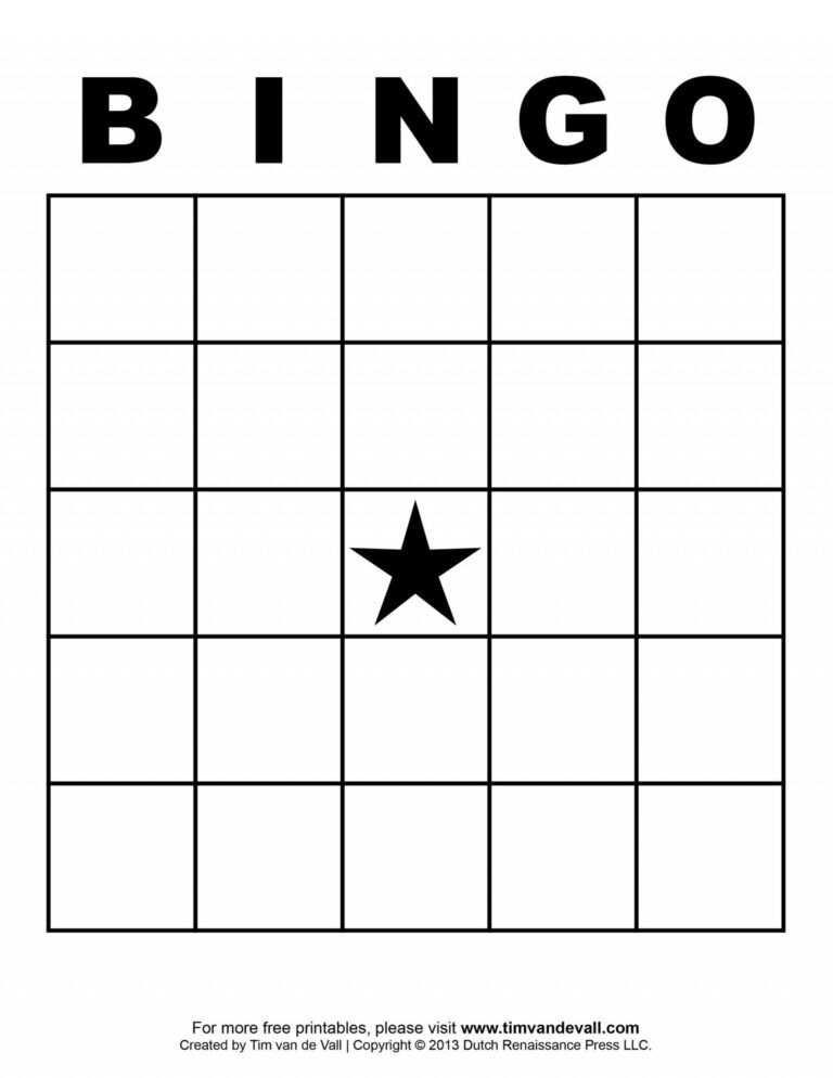 034 Template Ideas Blank Bingo Card Stirring 4x4 Excel Inside