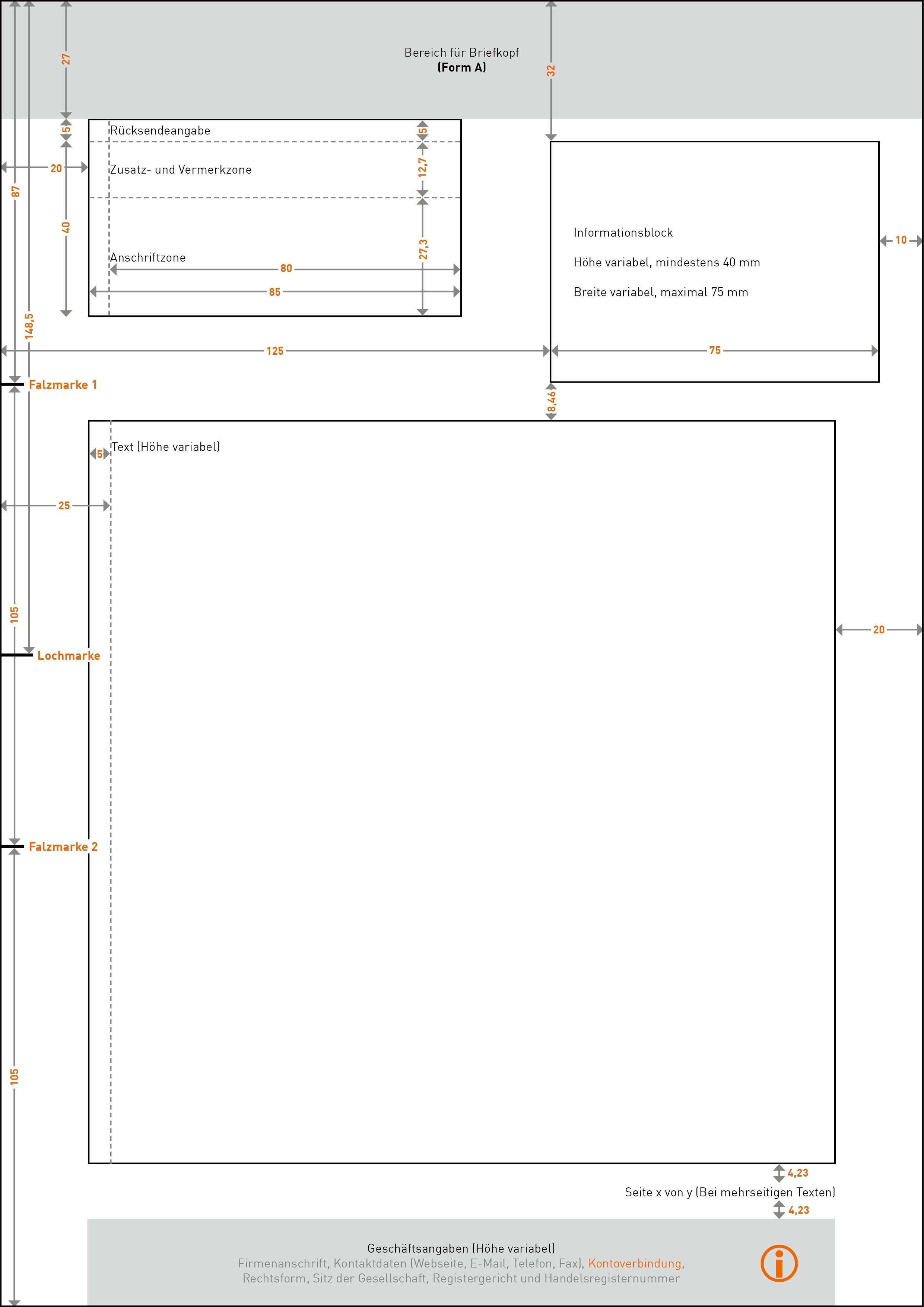 Sepa Kommt Briefbogen Vorlage Geschaftspapier Briefbogen