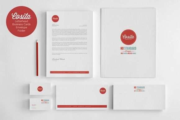 Cosita Corporate Identity Briefbogen Briefpapier Vorlage