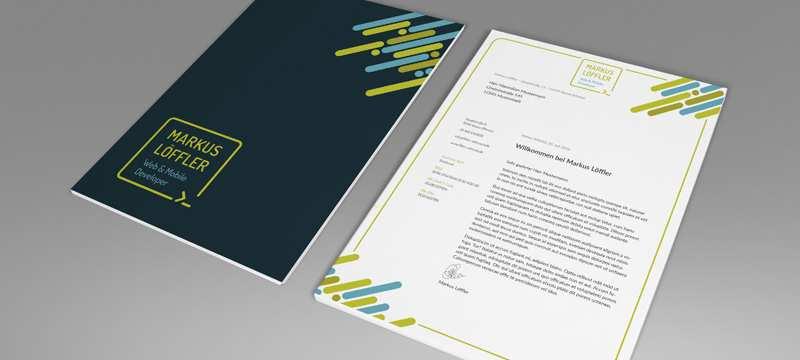 Briefpapier Geschaftspapier Briefbogen Vorlage Zum Ausdrucken