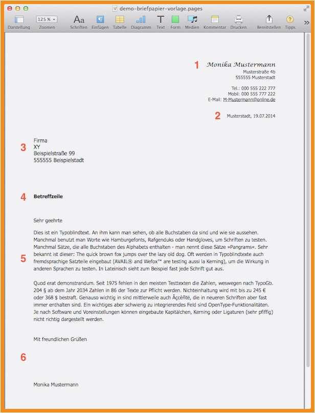15 Briefpapier Vorlage Word Chartersnovaair Com
