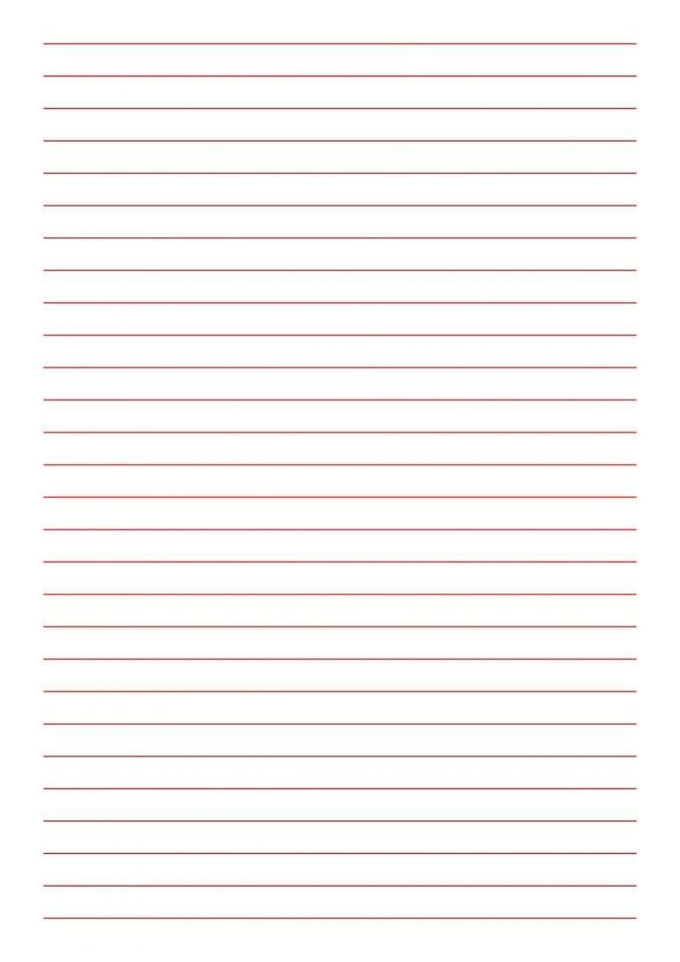 Briefpapier Zum Ausdrucken Mit Linien Einzigartig Kostenloses